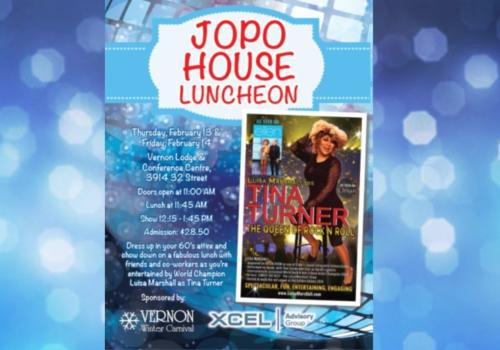 Jopohouse Luncheon – Feb 13